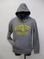 New Wichita State Shockers Womens Size M Medium Gray Performance Hoodie