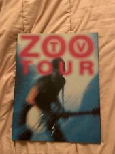 U2 tour program ZooTv North America February 1992 to April 1992
