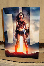 """Wonder Woman """"Gal Gadot"""" Movie Color Poster Tabletop Display Standee 10.5 """" Tall"""