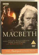 Macbeath (DVD) BBC Shakespeare Collection, Rare 1983 Adaptation