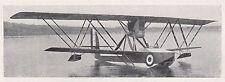 D2793 Idrovolante M 8 da ricognizione e bombordamento - Stampa - 1922 old print