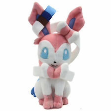 Lovely Pokemon Sylveon 20cm Soft Plush Toy Doll Evolution of Eevee soft fur