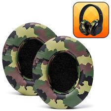 Beats Studio Replacement Ear Pads - Fits Beats Studio 3 / Studio 2 - Green Camo