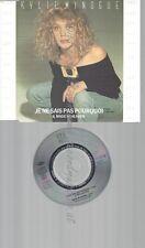 """CD--KYLIE MINOGUE --- JE NE SAIS PAS POURQUOI RAR 3"""""""