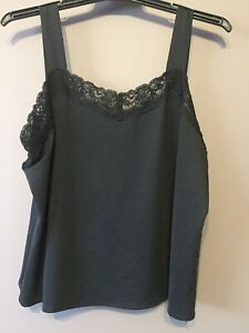 Women's Clothing, Top, Singlet, Eve-0188, Black, Size 18, Was $55, Now $27.50
