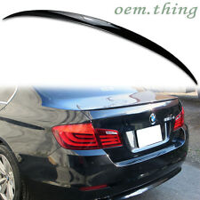 PAINTED For BMW F10 5-SERIES M5 TYPE REAR TRUNK BOOT SPOILER 4D SEDAN 535d 550i