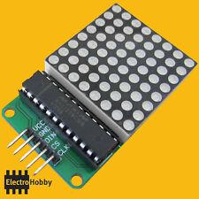 Kit Montaje MAX7219 con Matriz de Led 8x8 - Arduino, microcontrolador.