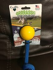 Our Pets Rugged Rope Grrrasic Bonded Tough Dog Toy