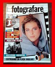 FOTOGRAFARE 4 1992 COSTRUIRE FLASH ANULARE I FILTRI + UTILI VOCAZIONE FOTOREPORT