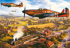 Gibsons - 500 PIECE JIGSAW PUZZLE - Tangmere Hurricanes