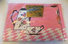 Vintage Pink & Black Paper Place Mats Placemats Set of 19 Roylprint