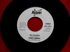 BUDDY MERRILL~ OH CALCUTTA~ RARE~ PROMO~ VG++~ ACCENT~ 7272~JAZZ~ SOUL 45