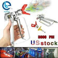 3600 Psi Spray Gun With 517 Tip Amp Guard Airless Paint For Sprayer Us
