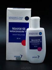 Medicated Shampoo Fast Solution for Dandruff Nizoral-SS Ketoconazole 1% 80ml
