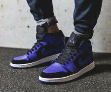 Nike Air Jordan 1 Mid 'Dark Concord' 554724-051 Size UK 10 EU 45 US 11 New