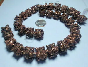 Copper African Trade Beads