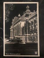 1938 Berlin Germany RPPC Postcard Cover To Sibiu reichstag building