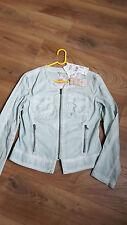 Damen Sommer Jacke von TAIFUN Größe 40 neu mintgrün