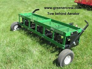 """Coring Aerator 54"""" Tow Behind for Home & Estate"""