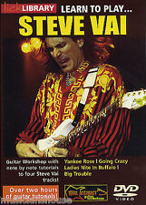 Fare clic su Libreria imparare a giocare Steve Vai ROCK Yankee Rose vivendo CHITARRA DVD 1