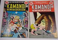 KAMANDI #6,7  KIRBY CLASSIC GLOSSY 9.0/9.2