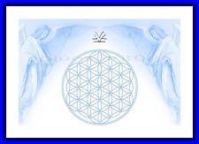 Energie Bild - Schwingungsbild - Die Blume des Lebens mit - Erzengel Michael