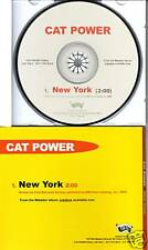 CAT POWER New York RARE 1 TRACK PROMO CD Single 2005