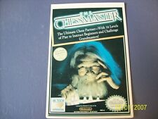 Chessmaster NES 8 Bit Nintendo Vidpro Card