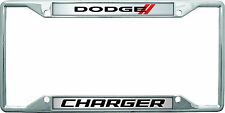 New Dodge Charger New Logo License Plate Frame