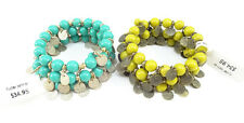 Set of Two New Flutter Coin Bracelets from Coldwater Creek $70 Ticket Value