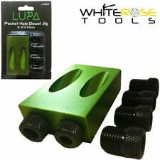 Lupa Pocket Hole Dowel Jig 6mm 8mm 10mm Guides Wood Screw Joint