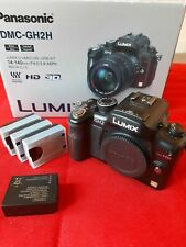 Panasonic LUMIX DMC-GH2 16.0MP Digital Camera - Black (Body Only) + 4 Batteries
