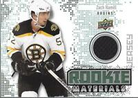 2010-11 Upper Deck Rookie Materials #RMZH Zach Hamill Jsy - NM-MT