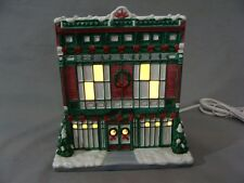 "2003 Lefton Porcelain Lighted ""Dry Goods"" Building"
