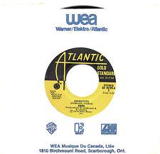 Mfd In Canada Pop Rock Gold Standard 45 Rpm Abba : Chiquitita + I Have A Dream