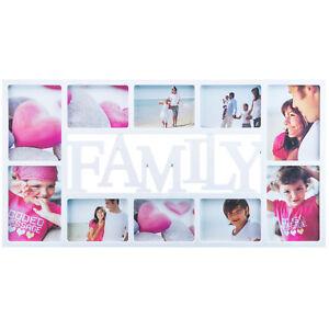 XXL Fotorahmen Bildergalerie Bilderrahmen Family - 10 Fotos Familien Fotocollage