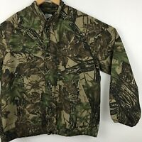 Vintage Liberty Outdoor Mens Jacket Size M Realtree Camo Non insulated Snaps
