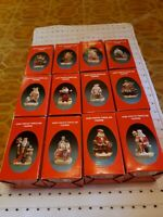 SANTA'S OF THE NATIONS Lot Of 12 Holland France Poland Portugal Ireland Spain
