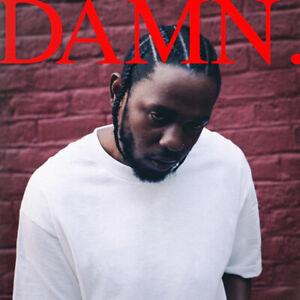 For Kendrick Lamar DAMN Rap Album Cover Hip Hop Print Poster Wall Decor Multi