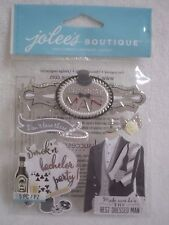Jolee's Boutique 5 pc  Dimensional Stickers - BEST MAN