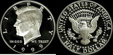 1999 S 90% Silver Kennedy Half Dollar Deep Cameo Gem Proof