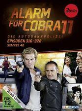 ALARM FÜR COBRA 11-STAFFEL 40 (ERDOGAN ATALAY, KATRIN HEß,,,,) 3 DVD NEW