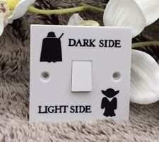 Interruptor de luz de Star Wars Calcomanía Vinilo Sticker