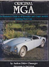 MG MGA Coupe & Roadster 1500 1600 & doppia camma restorers guida per originalità LIBRO