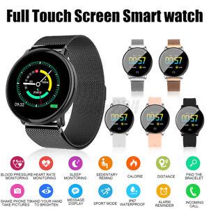 1.3'' Smart Watch Touch Screen Wristwatch Heart Rate Blood Pressure Monitor  CN