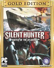 El Silent Hunter 5: batalla del Atlántico Gold Edition global PC clave (Uplay)
