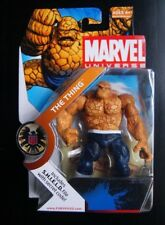 Marvel  Universe THE THING action figure DARK BLUE PANTS! (Rare and VHTF!)