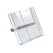 "Retail Clear Acrylic Brochure Side Shelf for Freestanding Unit 9.25""W x 10""H"