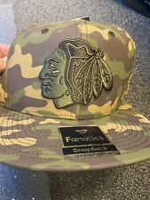 Chicago Blackhawks Camo Snap Back Hat Cap Fanatics