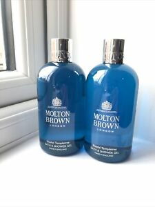 Molton Brown Blissful Templetree Bath & Shower Gel 2 X 300ml New FREE P&P